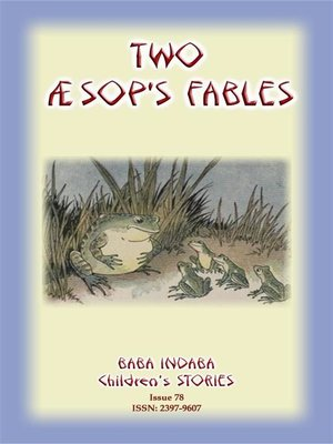 cover image of TWO AESOP'S FABLES--The Raven and the Swan and the Frogs and the Ox Simplified for children